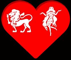 løve og jomfru